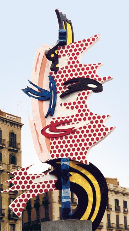 monumental sculpture � roy lichtenstein foundation