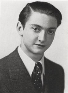 High School Portrait Franklin School for Boys, New York Ca. 1940 Roy Lichtenstein Foundation Archives
