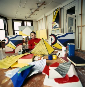 Roy Lichtenstein in his studio at 190 Bowery, New York, 1969. Photograph by Lord Snowdon/Trunk Archive