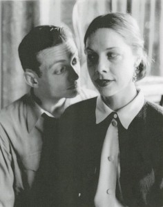 Roy Lichtenstein and Isabel Lichtenstein in Columbus, Ohio, ca. 1950. Photograph by Stanley Twardowicz