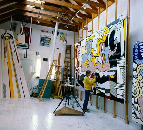 Chronology Roy Lichtenstein Foundation