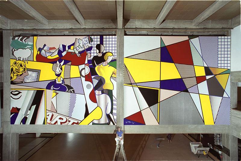 Public Murals Roy Lichtenstein Foundation
