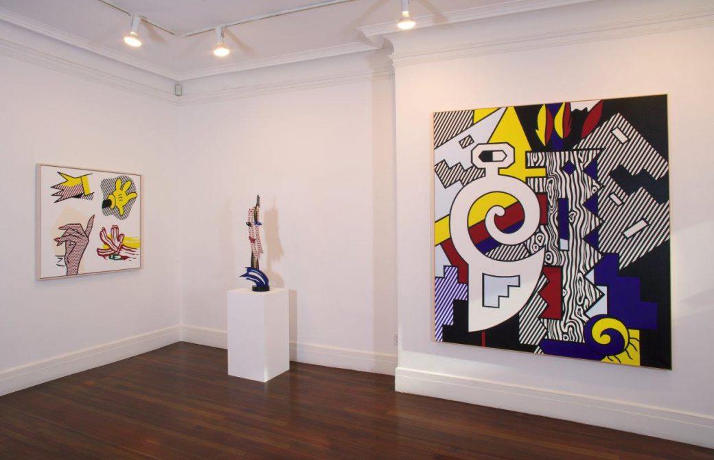 2016roy lichtenstein refigurecastelli gallery new york